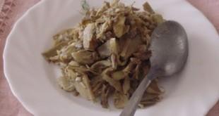 Carciofi al limone alla siciliana