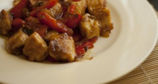 Pollo e peperoni alla siciliana