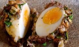 Uova del priore alla siciliana