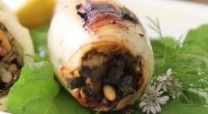 Calamari ripieni al forno alla siciliana
