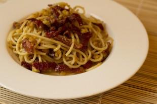 Spaghetti ai pomodori secchi
