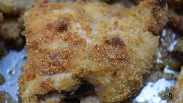 Pollo al forno alla nissena